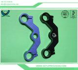 Hohe Toleranz-Herstellungs-Metallpräzisions-Aluminiummaschinerie, die CNC-Anteile an Shenzhen maschinell bearbeitet