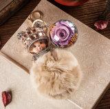 Konservierte Blume Monchhichi Keychain für Geschenk