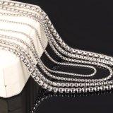 Серебра ожерелья Rolo нержавеющей стали ожерелье способа цепного стальное