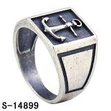 Anel de prata de Steling da venda por atacado 925 da fábrica para homens
