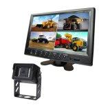 Vierradantriebwagen-Auto-Monitor 9 Zollrearview-Digital-LCD mit dem breiten Bildschirm, der Kamera für Schlussteil/Wohnwagen/Kran aufhebt
