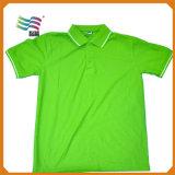 Polo-Muffen-Hemd der Qualitäts80% der Baumwollet mit kundenspezifischem Drucken