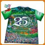 カスタム印刷を用いる品質80%の綿Tのポロカラーワイシャツ