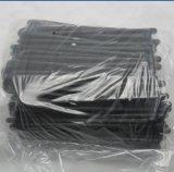 Laços reusáveis da engrenagem do silicone do Sell quente, cintas plásticas de borracha e laços de torção