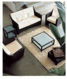 Hotel-Terrasse-Freizeit-Sofa-gesetzte im Freienrattan-Möbel