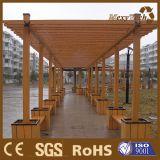 Pérgola de madera del compuesto WPC de la venta caliente de Guangzhou para la venta al por mayor