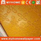 Het in het groot Binnenlandse Comité van de Muur Paintable van pvc van de Bekleding van de Muur Waterdichte Goedkope 3D