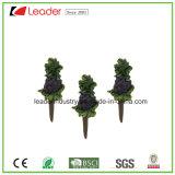 Mini Figurine decorativo della pera del giardino dipinto a mano della resina per la decorazione domestica