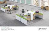 Самомоднейшая перегородка системы офиса стола кабин рабочей станции офиса (H15-0802)