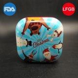 Rectángulo cuadrado grande de los dulces del estaño del metal para el regalo (S001-V6)