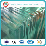 vidrio de flotador claro de 5m m Temperable con el certificado de la ISO