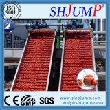 Sauce tomate traitant la chaîne de production