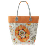 Disegni stampati freddi del fiore per le collezioni delle donne di borse