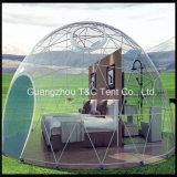 Geodäsieabdeckung-Haus-halber Bereich-Zelt-Parabolisches Form-Zelt von 5-30m