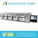 Matériel remplissant Df600 de liquide péristaltique de pompe de Shenchen