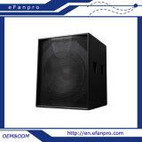 '' Altavoz bajo del altavoz para bajas audiofrecuencias S18 18 (TACTO)