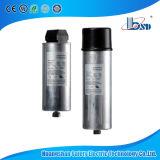 Condensador metalizado de la película (tipo redondo), condensadores de la corrección de factor de potencia 60Hz