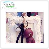 PVC suave de encargo vendedor caliente Keychain de la promoción linda