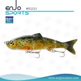 Señuelo bajo articulado multi selecto de los trastos de pesca de la pesca del pescador del cebo bajo realista del señuelo (MS1213)