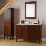 Vanité de salle de bains de type de porte incurvée par Fed-1814 24 Modules de Bath en bois solide de pouce