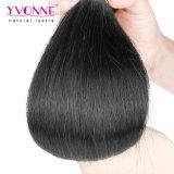 Extensiones brasileñas del pelo recto del pelo natural