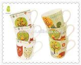 Taza divertida de cerámica promocional china para los niños