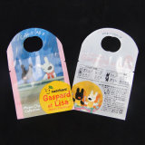 Fashinable Cartoon Collection Bolsa de plástico com cabeçalho