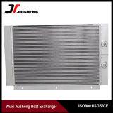 Intercambiador de calor del compresor de aleta de aluminio soldado