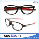 Telaio dell'ottica Eyewear di modo di stile del cambiamento del tempiale popolare di vetro