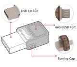 Android del bastone di memoria del USB dell'azionamento del USB di OTG per il disco istantaneo 8GB 16GB 32GB di Samsung Smartphone Pendrive U un USB 2.0 da 64 GB