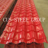 Le mattonelle profilano gli strati di profilo ricoperti /Colour dello strato del tetto
