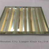 Vetro giallo laccato ultra chiaro di vetro/arte del mestiere/vetro Tempered con stile semplice