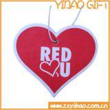Ambientador la aduana del corazón de la forma del coche de la fragancia para los regalos promocionales (YB-AF-01)