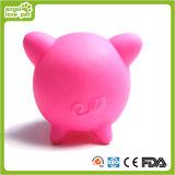 動物の形のピカピカのブタのビニールのおもちゃペット製品