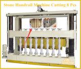 機械裁ちの側面図を描く石または花こう岩または大理石の手すり8部分