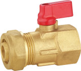 Ball de bronze Valve BV-1480 com Aluminium Handle