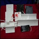 De Ceramische Infrarode Verwarmers (IR) op hoge temperatuur van het Comité