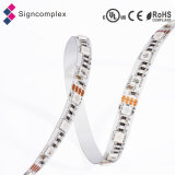 Decorativo colorido 3528 / 5050SMD IP65 impermeable RGB tira de LED flexible