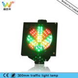 200mm LEDのトラフィックの緑の矢の赤十字車の洗浄のシグナルライト
