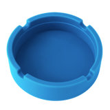 Cendrier incassable lavable amical multicolore de silicones d'Eco