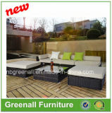Poly Rattan Mix Brown Outdoor Corner Sofa