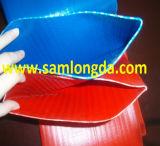 "3/4 "" - 12 "" de mangueira azul do PVC Layflat"