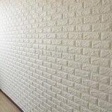 Espuma elástica del ladrillo del PE de DIY de paredes de recubrimiento de la decoración de moda del sitio