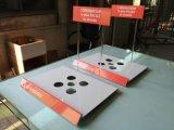 Manufacuturer des AcryllaptopAusstellungsstandes mit Firmenzeichen-Drucken