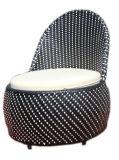 Ротанга смолаы PE мебели отдыха гостиницы высокого качества стул салона напольного Wicker