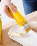 Ideal плодоовощ оборудует желтый Slicer банана для собрания кухни