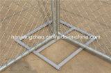 Heißes BAD galvanisierte den Kettenlink-Aufbau-Zaun, der in uns u. in Kanada verwendet wurde