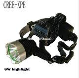 Оптовый напольный сь Headlamp, Headlamp алюминия T6 Q5XPE