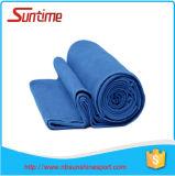Rapide sécher et suer la serviette de absorption de yoga de Microfiber, serviette antidérapage de natte de yoga