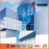 El panel compuesto de aluminio de la prueba PVDF ACP (AF-403) del tiempo de Ideabond los 4ft*8ft